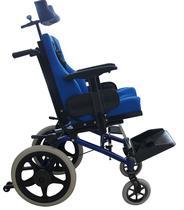 Cadeira de Rodas Conforma Tilt com Apoio Postural Ortobras -