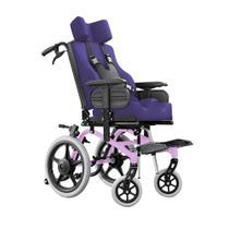 Cadeira de Rodas Conforma Tilt Reclinável com Apoio Postural Ortobras -