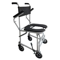 Cadeira de Rodas de Banho Higiênica Dobrável B4 Ortomobil -