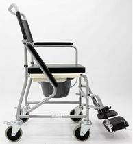Cadeira de rodas higienica banho columbus 45cm - praxis -