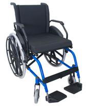 Cadeira de Rodas K1 Eco Alumínio Pedal Fixo Ortobras -