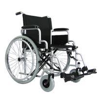 Cadeira de Rodas Manual Dobrável em Aço modelo Frankfurt - Praxis -