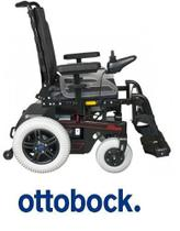 Cadeira de rodas motorizada b400 standard ottobock -