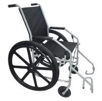 Cadeira De Rodas Pneu Maciço - Ortometal -