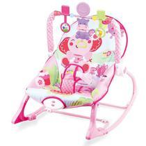 Cadeira Descanso Bebê Vibratória Musical Baby Style Elefante -