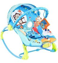 Cadeira Descanso  para Bebê Musical Vibratória 18 Kg Circo -  Dican -