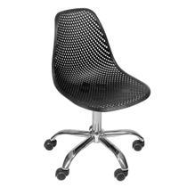 Cadeira Eames Colmeia com Base giratória - Preto - Or Design