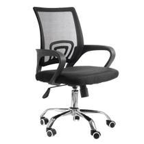 Cadeira executiva base giratória cromada tela mesh new java - DESIGN CHAIR