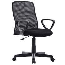 Cadeira Executiva Mesh Giratoria 8920 Preta - Mymax