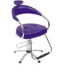 Cadeira Futura Hidráulica Dompel Roxo -