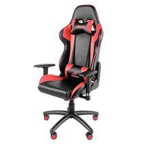 Cadeira gamer akasa venon sgc20 preta/verm a-gch-02rd 120kg -
