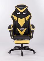 Cadeira gamer com pad amarela - 01606 - Xway