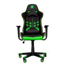 Cadeira Gamer Dazz Prime-X Até 100Kg Apoio de Braço - Preto/Verde -