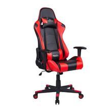 Cadeira Gamer MoobX GT RACER Preto e Vermelho -