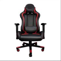 Cadeira Gamer MoobX Thunder Preto e Vermelho - Bela