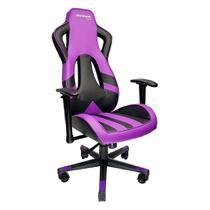 Cadeira Gamer MX Eleven Roxa e Preta - Mymax