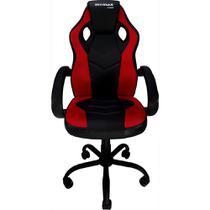 Cadeira Gamer MX0 Giratoria Preto e Vermelho Mymax -