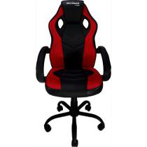 Cadeira Gamer MX0 Giratoria Preto/Vermelho Mymax -