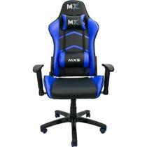 Cadeira Gamer MX5 Giratoria Preto/Azul Mymax -