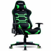 Cadeira Gamer PCTOP Preta Green - X-2555 -