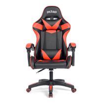 Cadeira Gamer PCTop Strike 1005 Vermelha/Preto -