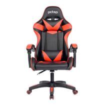 Cadeira Gamer PcTop Strike, Vermelha -