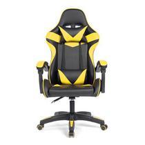 Cadeira Gamer Prizi Amarela - Pz1005 -