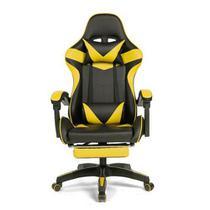 Cadeira Gamer Prizi Amarela - PZ1006E -