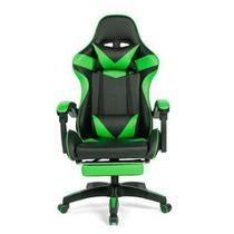 Cadeira Gamer Prizi Verde - PZ1006E -