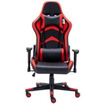 Cadeira Gamer Prizi Warrior - Vermelha -
