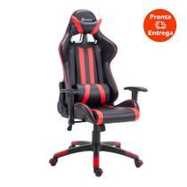 Cadeira Gamer Pro Reclinável Base Giratória Gallant Preto/Vermelho -