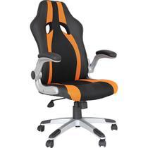 Cadeira Gamer Speed Preto e Laranja - Rivatti