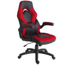 Cadeira Gamer Vermelha - Just Home Collection
