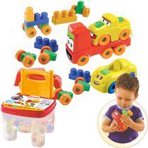Cadeira Infantil Brinquedos Educativos Peças Montar Encaixe - Dismat