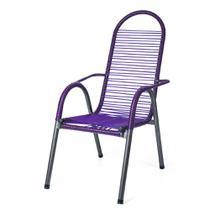 Cadeira Infantil de Varanda / Área Luxo de Fio Azul - 6103