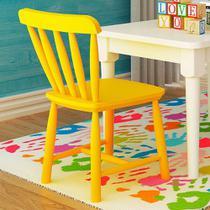 Cadeira Infantil em Madeira - Acabamento Laqueado Amarelo - Deiss