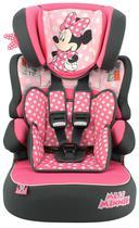 Cadeira Infantil para Carro Cadeirinha Menina Minnie Disney - Team Tex