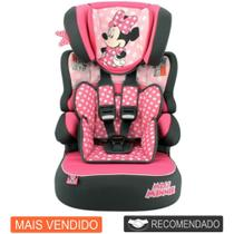Cadeira Infantil Para Carro Disney Beline Minnie Mouse Dots - Team Tex