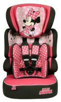 Cadeira infantil para carro Team Tex Disney Beline Luxe Minnie Mouse dots rosa - FI
