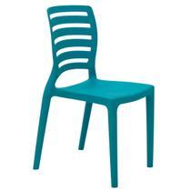 Cadeira Infantil Tramontina Sofia Azul em Polipropileno e Fibra de Vidro -