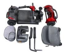 Cadeira Motorizada Scooter Elétrica Scott S Azul Portátil - Ottobock