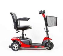 Cadeira Motorizada Scooter Mobilitys Triciclo Modelo Pocket-cor vermelho - Cadeiras Mobilitys