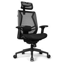 Cadeira Office DT3 Sports Spider Black - 12056-4 -