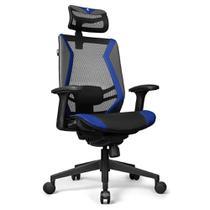 Cadeira Office DT3 Sports Spider Blue - 12058-6 -