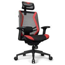 Cadeira Office DT3 Sports Spider Red - 12057-5 -