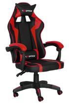 Cadeira office gamer - hds - vermelho - Gran Bazar Cadeiras