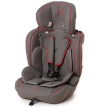 Cadeira p/auto galzerano ravi grafite vermelho -