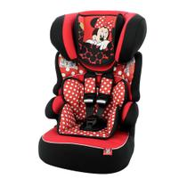 Cadeira P/ Auto Team Tex Luxe Minnie Mouse Red Beline Preto/Vermelho -