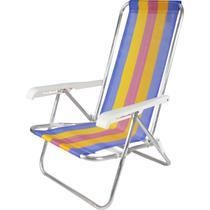 Cadeira P/PISCINA/PRAIA Reclinavel 4POSICOES 73X54X84 - Belfix