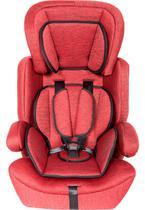Cadeira Para Auto  9 À 36 Kg Com Alarme - Vermelho Mesclado - Styll Baby -
